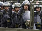 China Unruhen Uiguren, dpa