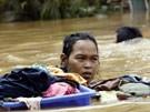 Jakarta versinkt im Chaos (Bild)