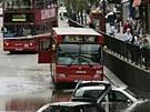 Wolkenbruch legt London lahm (Bild)