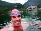Weltrekord im Kälteschwimmen (Bild)