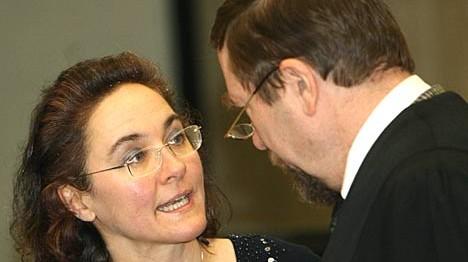 Sylvia Stolz und Jürgen Rieger