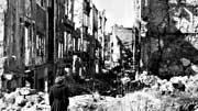 Zerstörtes Dresden