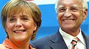 Merkel, Stoiber