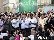 Protest in Teheran, Iran, dpa