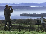 Ausblick auf den Starnberger See