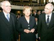 Angela Merkel Ernst-Ludwig Winnacker Matthias Kleiner