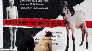 Die Holocaust-Plakate von Peta