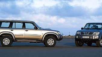 Mitsubishi Pajero und Nissan Patrol