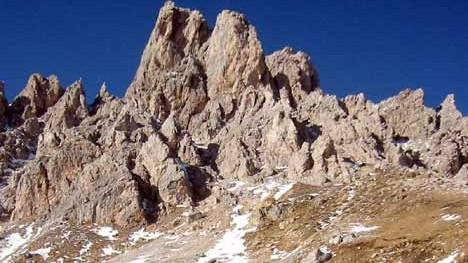 Alpen Wandern in den Dolomiten
