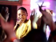 """Der neue Hip-Hop-Star Soulja Boy mit seinem Hit """"Crank Dat"""" bei MTV."""