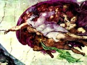 Michelangelos Gott, AP