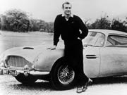 Aston Martin, DB5, Sean Connery, James Bond, 007; Foto: dpa