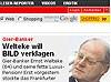Welteke geht gegen Bild-Zeitung vor (Bild)