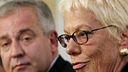 Carla del Ponte und Ivo Sanader