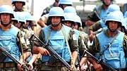 UN-Soldaten im Kongo