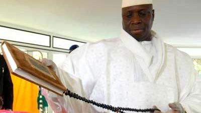 """Gambia Präsident Yahya Jammeh: """"Ich kann Aids heilen"""""""