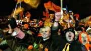 Demonstranten in Kiew, dpa