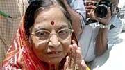 Pratibha Patil ist neue Staatspräsidentin von Indien