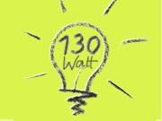 130 Watt-Birne