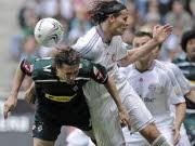 FC Bayern gegen Mönchengladbach: Daniel van Buyten, ap