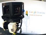 Google Street View Wlan Karte, dpa