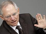 Schäuble hält Nein zu Griechenland-Hilfe für möglich, dpa
