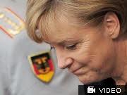 Bundeskanzlerin Angela Merkel, Regierungserklärung Afghanistan, dpa