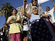 Arizona Immigration Einwanderung USA Gesetz Demonstrationen Rassismus Latinos Hispanics, Reuters