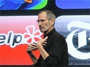 Steve Jobs Apple Apps Walled Garden Zensur, AFP