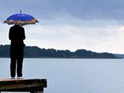 Deutscher Wetterdienst Klimawandel Regen Hitze Kohlendioxid dpa
