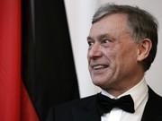 Bundespräsident Horst Köhler; AP