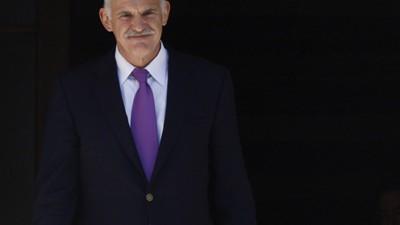 Giorgios Papandreou, Reuters