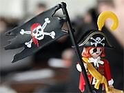 Piratenpartei, Piratenfigur, Foto: ddp