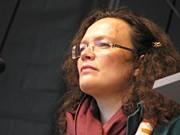 Andrea Nahles auf dem Ökumenischen Kirchentag; pfau