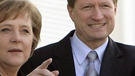 Angela Merke, Ulrich Wilhelm, Foto: dpa