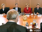 Sondersitzung des Bundeskabinetts, Foto: dpa