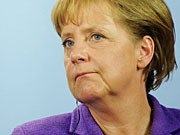 Bundeskanzlerin Angela Merkel CDU Vorsitzende Finanzkrise Schäuble ddp