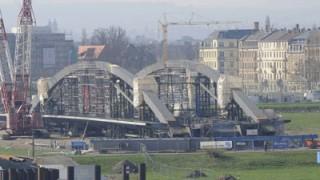 Waldschlösschenbrücke, ddp