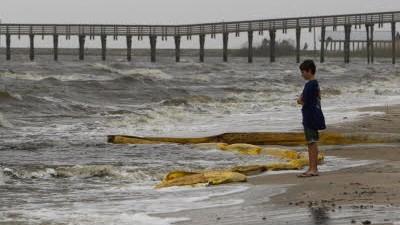 Ölsperre, Golf von Mexiko, dpa
