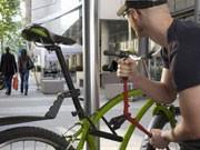 Fahrraddieb, Hausratsversicherungen, Foto: ddp