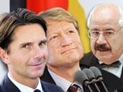 Bela Anda Ulrich Wilhelm Regierungssprecher, ddp/dpa,  Grafik: sueddeutsche.de, Helldobler