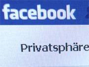 Facebook Datenschutz Sicherheitslücke Soziale Netzwerke, ddp