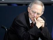 Wolfgang Schäuble, Finanzminister, AP