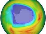 Ozonloch KNMI/Esa