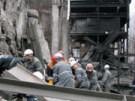 Explosion unter Tage (Bild)