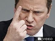 Bundestag entscheidet über Rettungsschirm, Merkel Westerwelle Reuters