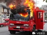 Feuer in Bangkok, dpa
