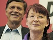 Ulrich Maurer Linke Beuermann NRW Sonderierungsgespräche dpa