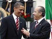 Drogen Drogenkrieg Mexiko USA Felipa Calderon Barack Obama Acapulco Ciudad de Juarez, AFP