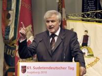 Pfingsttreffen der Sudetendeutschen in Augsburg - Seehofer